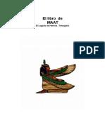 El Libro de Maat