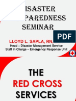 Disaster Preparedness Seminar Phil Red Cross Qc Chapter