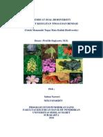 Tugas Soal Biodiversity - Sulton Nawawi (S 831402073)