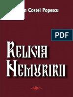 Religia Nemuririi - Eugen Costel Popescu