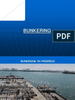 BUNKERING PROCEDURE