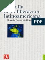 Cerruti, Horacio - Filosofia de la emancipacion latinoamericana.pdf