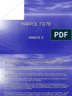 Marpol 73 78 Anex II