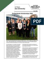Graduate School News-Dec 2009