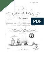 Ejercicio Para Guitarra- Guiliani Opus 48