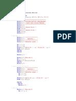 Penjumlahan Matriks Dengan Fortran