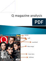 Q Magazine Analysis