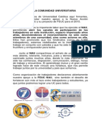 Declaración apoyo de Sindicatos