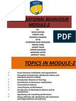 organisational Behaviour Module-2 Sec A