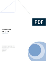 100 Anatomy Mcqs