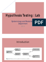 1stlab Hypothesis Testing