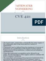 468_cve 421 Wastewater Engineering