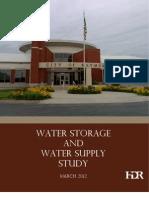 Water Supp _water Storage