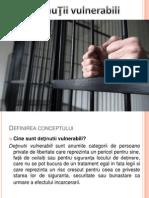 Deţinuii vulnerabili