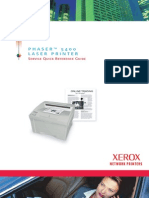 Xerox Phaser 5400 Parts & Service
