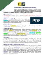 Convocada La Decimotercera Edición de La Olimpiada Científica de La Unión Europea
