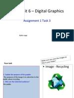 task 3 assign 1 - new unit 6  digital graphics katie copp
