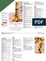 girafa crosetata