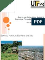 Poluição Rural e Urbana
