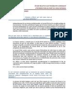Fiche Questions Complete Etude du Conseil d'Etat sur les possibilités juridiques d'interdiction du port du voile intégral