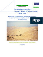 The Medalus project Mediterranean desertification and land use