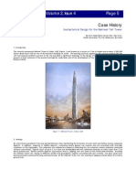 Geotechnical Design for the Nakheel Tall Tower