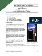 Remote Bird Sensing Technologies Paper