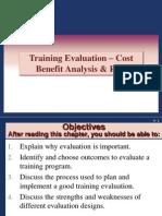 11. Training Evaluation