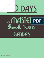 French Gender Drill Sample 1