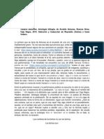 Sobre Palabra Desorden de Arnaldo Antunes RTF