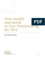 FHH New Models and Trends 2013