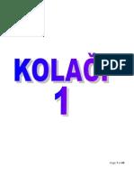 KOLACI 1
