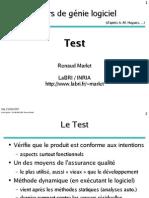 Genie logiciel ESTM Test 2014