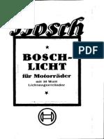Boschlicht motorrad 1927