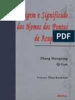 07. Origem e Significado Dos Nomes Dos Pontos de Acupuntura - Zhang Shengxing & Qi Gan (2)