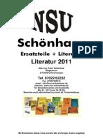 Katalog Literatur