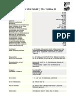 NSU 251OSL - tech data