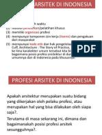 3 Profesi Arsitek & 13 Butir Kompetensi Di Indonesia (1)