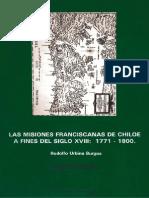 Chile, Misiones Franciscanas en Chiloé, 1771 - 1880