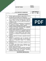 Formato de Auditoria Minera Operacional