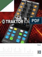 Traktor Kontrol X1 MK2 Manual English