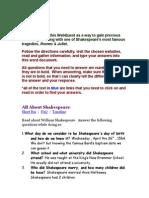 R and J WebQuest 2