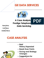 Prestige Telephone Company (Online Case Analysis)