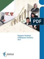 Singapore Year Book of Manpower Statistics, 2013