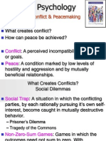 13 Conflict and Peacemaking