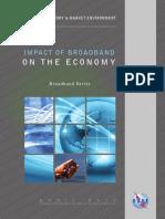 IT BB Reports Impact of Broadband on the Economy1
