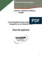 Guía Del Aspirante_Curso Propedéutico 2015-1