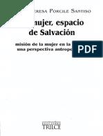 La mujer espacio de Salvación. Porcile Santiso, María Teresa
