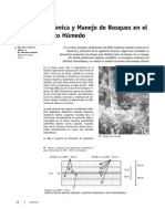 Dinamica y Manejo de Bosques en El Chaco Humedo