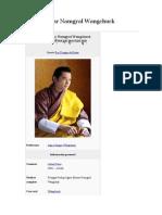 Jigme Khesar Namgyal Wangchuck. Rey de Bután